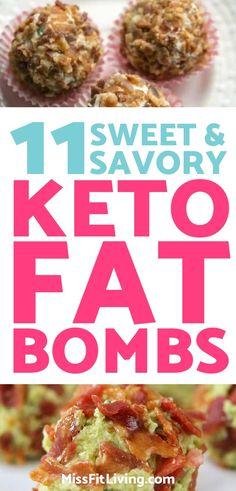 11 Sweet & Savory Keto Fat Bombs to Help You Reach Your Macros
