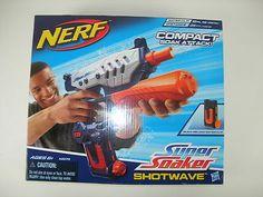 Nerf Super Soaker Shot Blast Water Gun Including Free Scope.