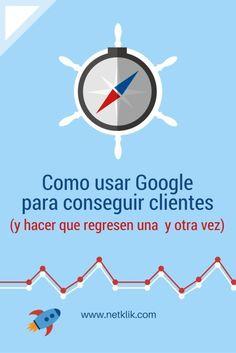 Como usar Google para conseguir clientes, si sabes que tu audiencia hace bsquedas en Google, que debes hacer para atraerla a tu  pgina web. Descubre como usar 5 herramientas de Google increbles.