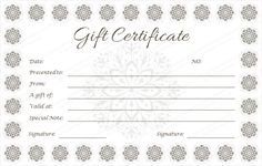 Gift certificate 30 pinterest gift certificate template gift gift certificate 30 pinterest gift certificate template gift certificates and certificate yelopaper Choice Image