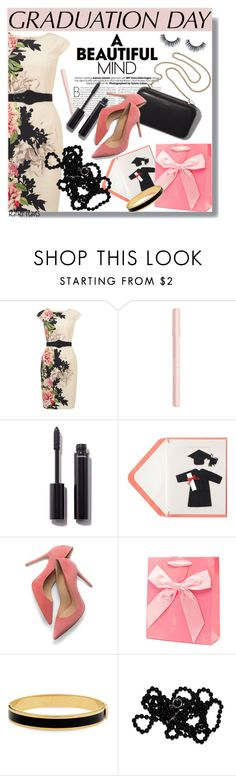 """Graduation Day Dress"" by heather-reaves ❤ liked on Polyvore featuring Phase Eight, Bourjois, Chanel, Clare V., Halcyon Days and graduationdaydress"