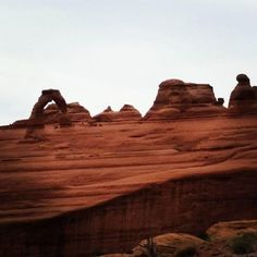 Delicate Arch. #archesnationalpark #NationalParks #delicatearch #geology #outsideisfree by schillingsworth