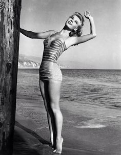 Vera-Ellen. Suffered from anorexia before much was known about the condition. Beautiful, talented, died before her time because of the pressure put on her to look the way 'women should'.