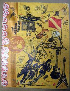 At back to school time I'd get Pee Chee folders I'd soon graffiti. The artist said he...  www.1ksmiles.com/897-pee-chee-folderspee chee folder art rock kiss band folders