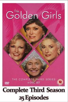 The Golden Girls - Complete Season 3 (25 Episodes) - Click Photo to Watch