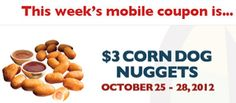 $3 Corn Dog Nuggets at Regal Cinemas on http://www.icravefreebies.com/