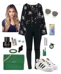 """""""Untitled #259"""" by stydialover on Polyvore featuring adidas Originals, DKNY, Fragments, CLUSE, Bling Jewelry, Urban Decay, Kenneth Cole, MAC Cosmetics, Yves Saint Laurent and Christian Dior"""