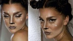 16 Deer Makeup And Antler Ideas For The Cutest Halloween Costume Deer Costume Diy, Bambi Costume, Deer Halloween Costumes, Cowgirl Costume, Cute Halloween Costumes, Halloween Kostüm, Diy Costumes, Halloween Makeup, Couple Halloween