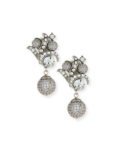 Victorian-Style+Crystal+Drop+Earrings+by+Jose+&+Maria+Barrera+at+Neiman+Marcus.
