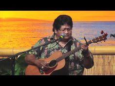 "Ledward Kaapana - ""I Kona""  Master Hawaiian Slack Key Guitarist"
