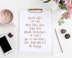 To Do List - Custom Wall Art - Custom Wall Quote - Custom Print- Custom Printable Quote - Printable Custom Art - Personalized Quote by SmudgeCreativeDesign on Etsy