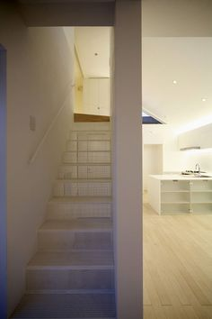 House in Akishima: Stairs | WHAT WE DO IS SECRET