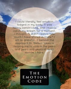 HealersLibrary.com | Testimonials  Read how a hiking trip in Havasupai led to a profound discovery for a mother and her son. #theemotioncode