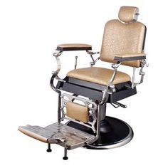 """""""EMPEROR"""" Barber Chair - Antique Barber Chairs, Barbershop Chairs, Barber Furniture & Equipment"""