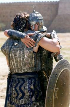 Hector and Paris Troy Film, Troy Movie, Roman Sports, Eric Bana, World Movies, Movie Shots, Greek History, Iron Age, Drama Film