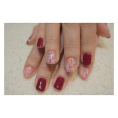 rainbow stitch #gelart #gelnail #nails2inspire #nailswag #nailart #nailartlover #nailartdesign #nailstagram #nailsbyhelencawaii #nailsclub #nailsaddict #colorfulnail #nailsfashion  #ステッチネイル #ネイル #ジェルネイル #ゲルアート #ネイルアート
