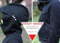 Charming Doodle...sew it, build it!: Introducing the Knight Hoodie Pattern