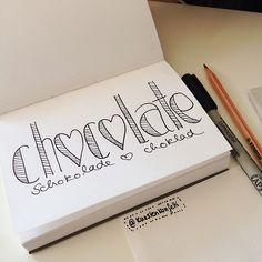 Küstenkonfetti: #doodles #handlettering #practice | Küsten konfetti | Flickr