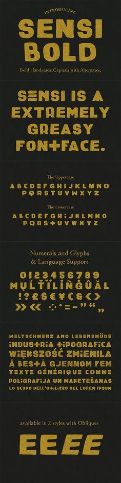 39 Distinct New Font