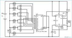 Dancing LEDs Circuit Diagram