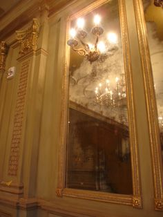 Antique Mirror & Gold Leaf for the Grand Bohemian (Asheville, NC). Work by Garay Artisans.