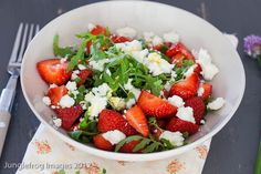 Strawberry feta salad - Simone's Kitchen