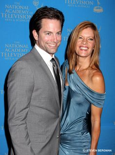 Michael Muhney & Michelle Stafford from Y&R. Two of my all time favorites that they managed to run off...Idiots!