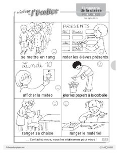 Imagerie: les règles de vie - FichesPédagogiques.com Worksheets, Projects To Try, Diagram, Bullet Journal, Coding, Math, French Stuff, Image Search, Food Ideas