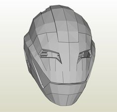 Papercraft .pdo file template for Iron Man - Ultimate Full Armor +FOAM+.