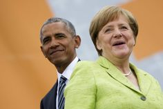 We Just Can't Stop Looking At These Photos Of Obama And Merkel Together Again | HuffPost