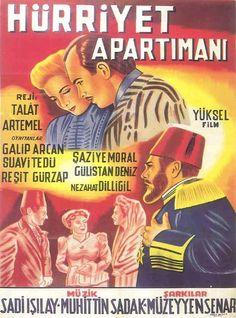 Türk Nostalji - Fotogaleri - Hürriyet Apartımanı (1944) filminin afişi