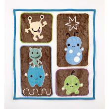 CoCaLo Peek-A-Boo Monsters Blanket