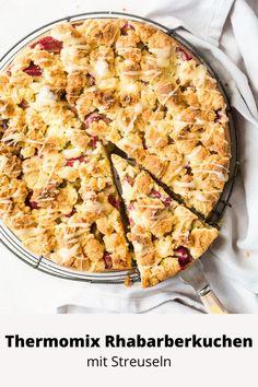Thermomix Rhabarberkuchen - schnell und einfach - A Matter Of Taste Bean Pie, Squash Pie, Canned Butter, Individual Pies, Midweek Meals, Butter Beans, Oven Roast, Tray Bakes, Food Inspiration