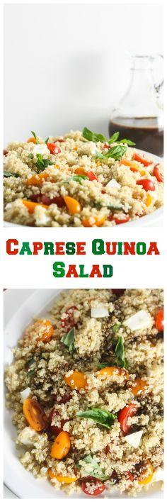This Caprese Quinoa