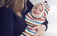Neulo vauvalle rauhoittava toukkapussi � suloisuus taattu!
