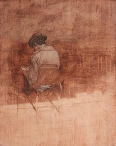 "Federico Infante, Clear Words, 2014, Acrylic on Paper, 40"" x 32"" #Contemporary…"