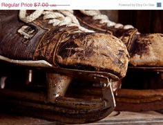 Vintage Bauer Hockey Skates photo by shawnstpeter