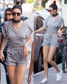 Kendall Jenner in comfy outfit
