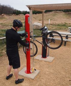 Whether you're looking for a public bottle fill station, bike wash station or a combination of wash and fill - we've got your community bike amenities covered. Garage Velo, Green Corridor, Bike Repair Stand, Bike Tools, Designer Pumps, Stainless Steel Cable, Emergency Supplies, Pub Crawl, Flat Tire