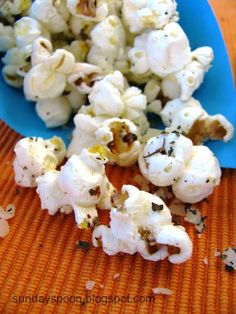 Cheese popcorn / Ποπκορν με τυρί