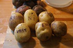 Aardappelboodschap.