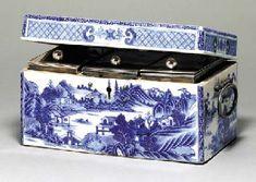 Tea caddy box circa 1775