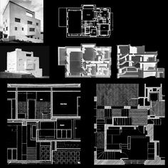 """I do not draw plans, facades or sections"": Adolf Loos and the Villa Müller – SOCKS Black Architecture, Architecture Drawing Plan, Concept Architecture, Architecture Design, High School Drawing, Villa, Presentation Design, Presentation Boards, Architectural Presentation"