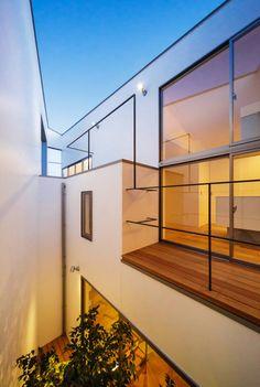 一級建築士事務所haus の 北欧風 バルコニー&ベランダ&テラス bent