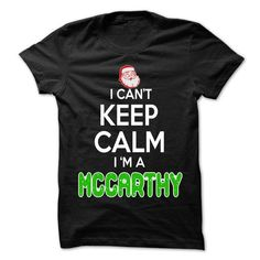 Keep Calm MCCARTHY... Christmas Time - 0399 Cool Name S - #tshirt quotes #sweater vest. GET YOURS => https://www.sunfrog.com/LifeStyle/Keep-Calm-MCCARTHY-Christmas-Time--0399-Cool-Name-Shirt-.html?68278