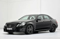 Now this is style! Brabus E V12! #Custom