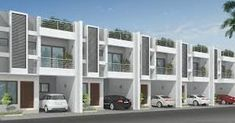Super Corridor Indore is filled with greenery and Row House in Indore with greenery is a good match. Row House is always a better option in terms of property purchasing. BLF Bhumi gives you what you… Row House Design, Duplex House Design, Tiny House Rentals, African House, Modern Townhouse, Independent House, Minimalist Apartment, House Elevation, Building Design