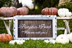 Autumn Wedding Ideas: Pumpkin Decor | Intimate Weddings - Small Wedding Blog - DIY Wedding Ideas for Small and Intimate Weddings - Real Small Weddings