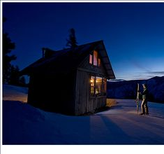The Rendezvous Huts | Hut to Hut Skiing & Mountain Bike Riding in the Methow Valley.  Some huts are dog-friendly!!