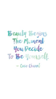 This Coco Chanel quote that is never not 100% accurate: | 19 Free Phone Backgrounds For Anyone Who Needs A Hug